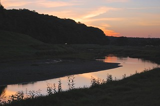 Hocking River at Sundown