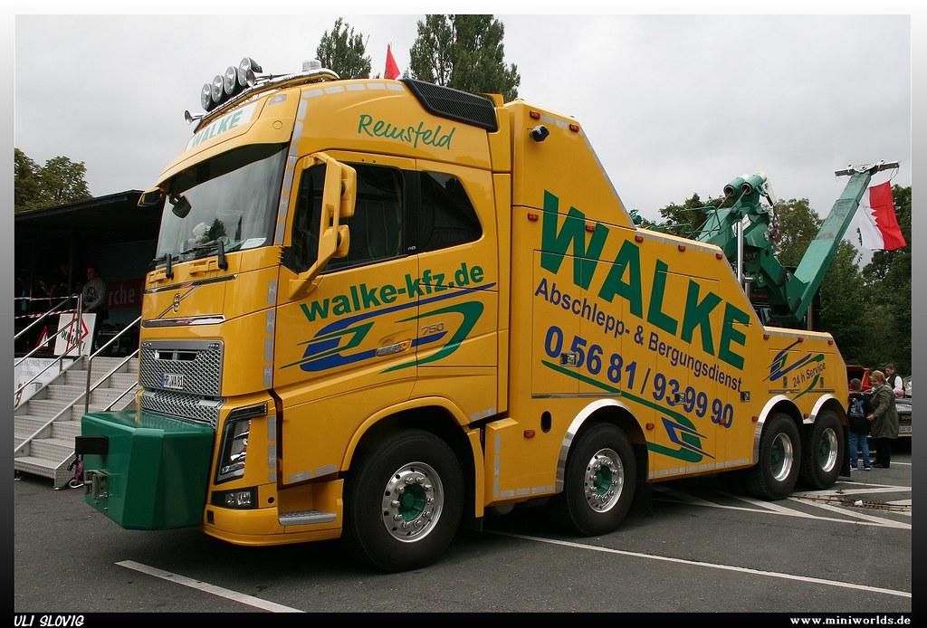 Volvo Fh 16 750 Quot Walke Quot Volvo Fh 16 750 Walke Abschlepp