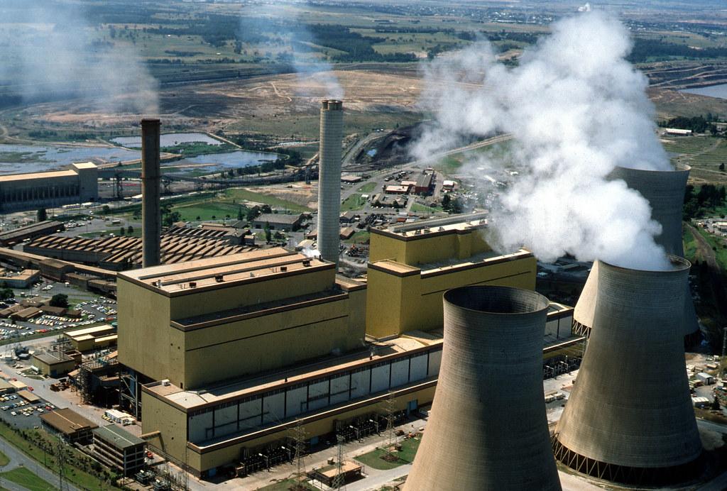 火力發電廠。Malcolm Paterson(CC BY 3.0)