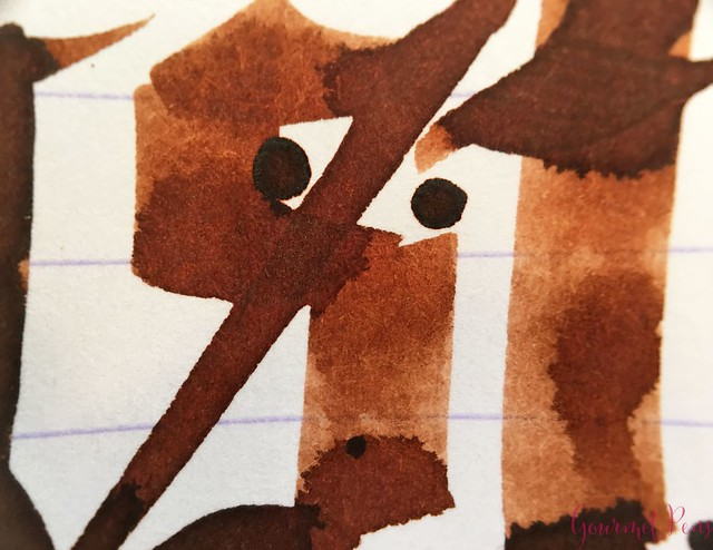 Ink Shot Review Bookbinders Eastern Brown @AndersonPens 6