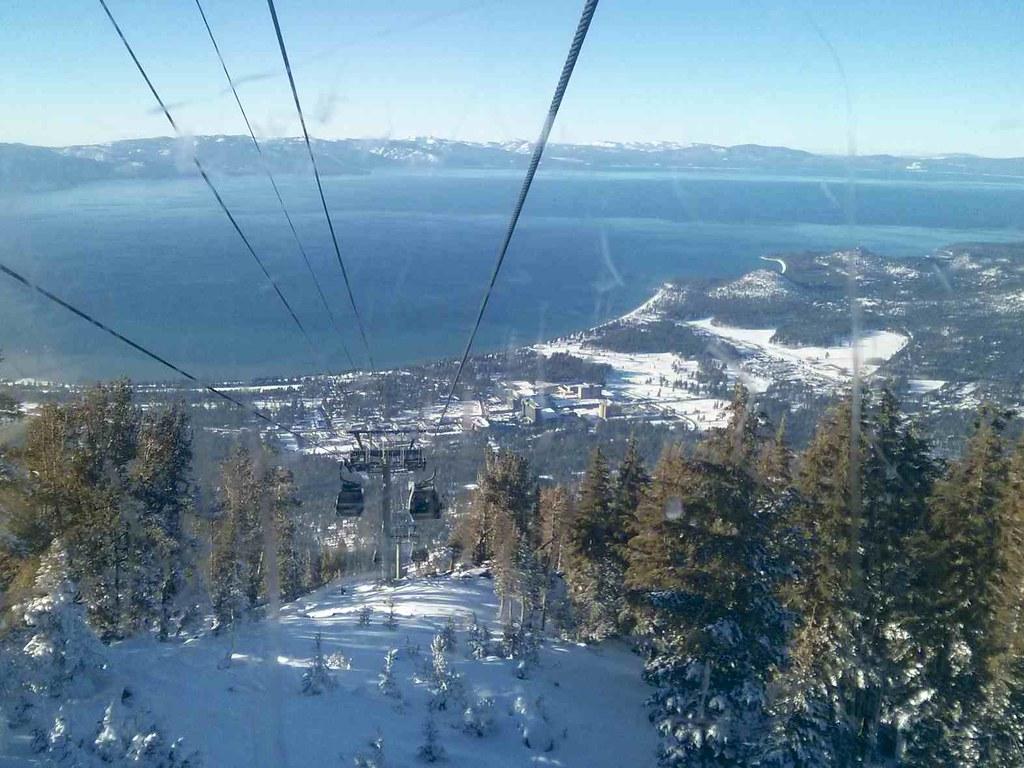 Heavenly Ski Lift | At Lake Tahoe | Jennifer Morrow | Flickr