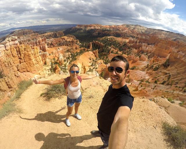 En Bryce Canyon, de los Parques Nacionales más bonitos que ver en la Costa Oeste de Estados Unidos