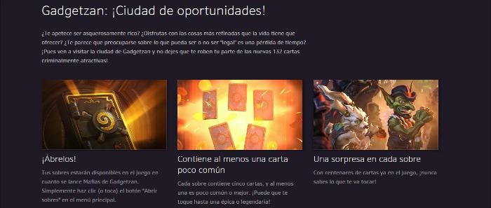 Anuncio de BlizzCon: Nueva expansión de Hearthstone revelada
