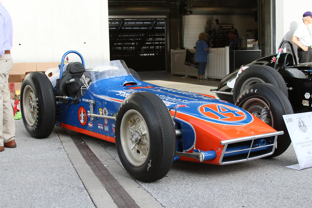 1st Place Class O Race Car 1960 1965 1960 Epperly Indy R