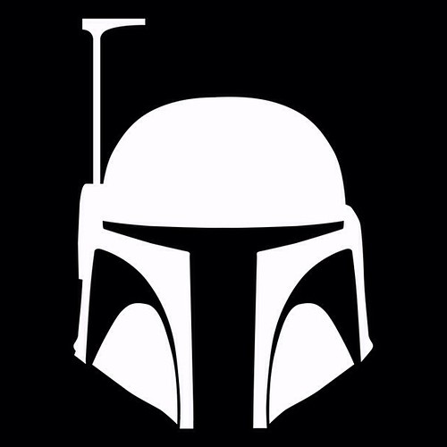 Star Wars White Boba Fett Wars Boba Fett Helmet