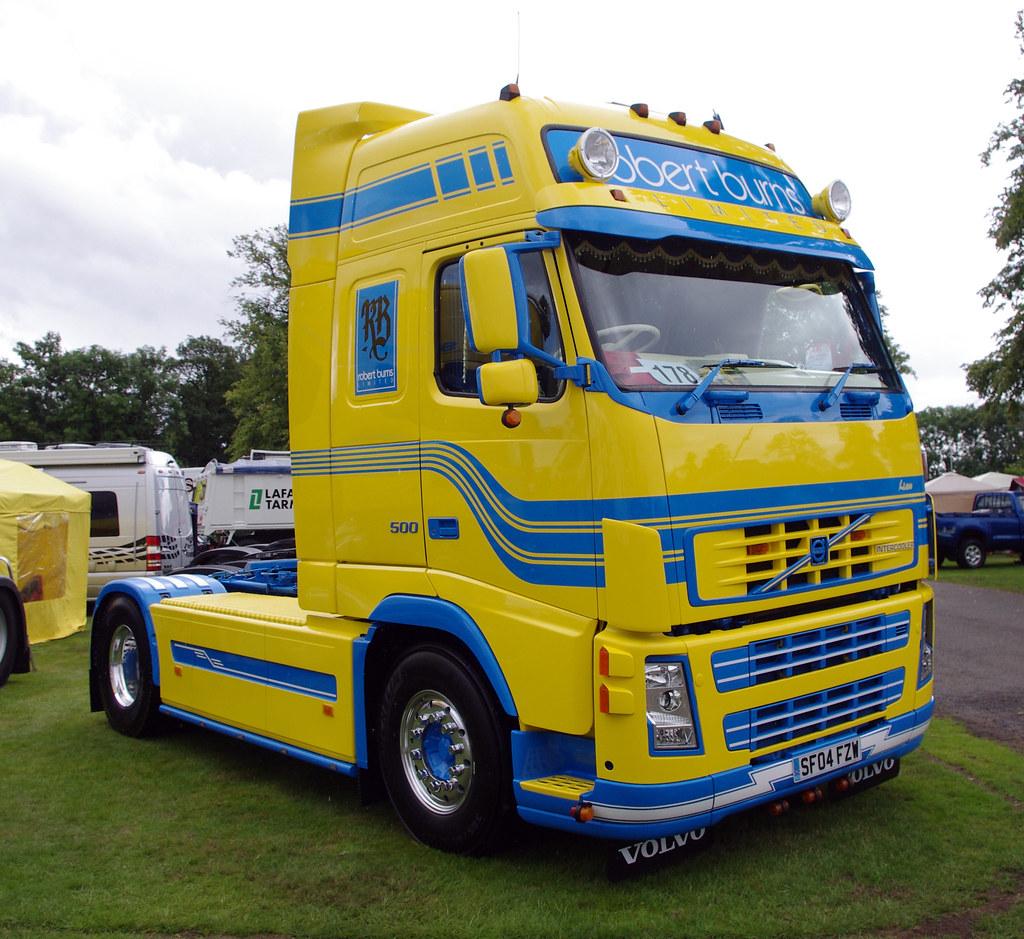 Robert Burns Of Broxburn Volvo Sf04fzw Truckfest