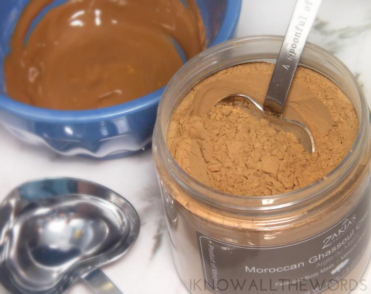 zakia's morocco moroccan ghassoul clay powder mask review (2)