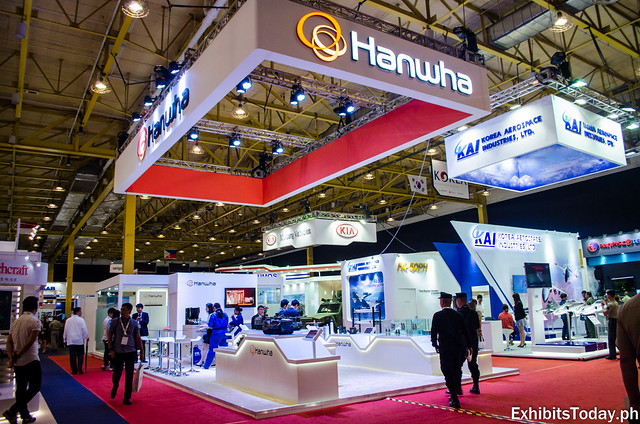 Hanwha Trade Show Display