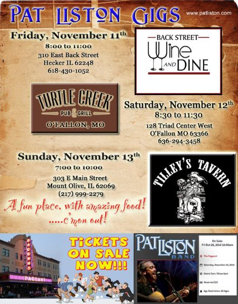 Pat Liston 11-11-16