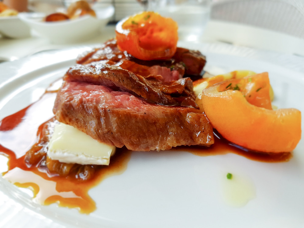 Oceana Restaurant Malta - Bavette of beef - The World In My Pocket
