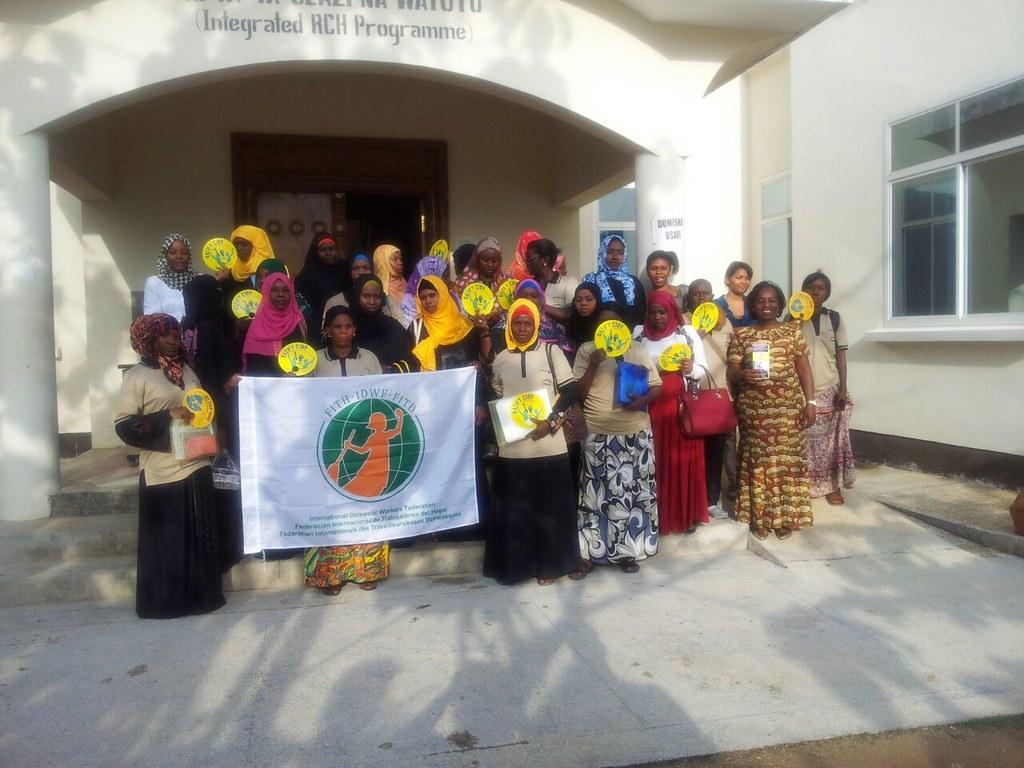 2016-10-26~27 Zanzibar: IDWF workshop on knowledge base for migrant domestic workers