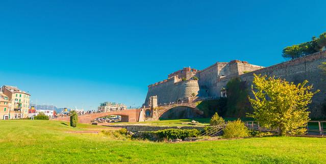 Panorama della Fortezza del Priamar