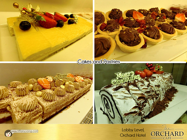 Orchard Hotel Christmas Cakes