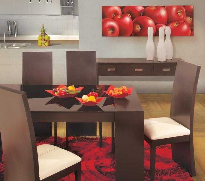 Muebles placencia comedor cafe rojo placencia muebles for Muebles placencia
