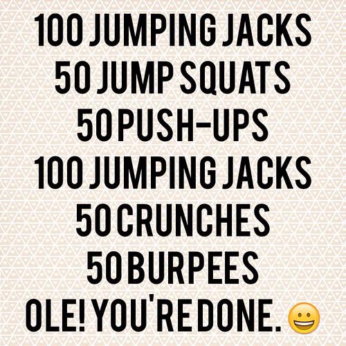 Necessity workout