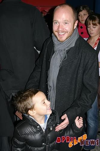 Евгений Стычкин с сыном