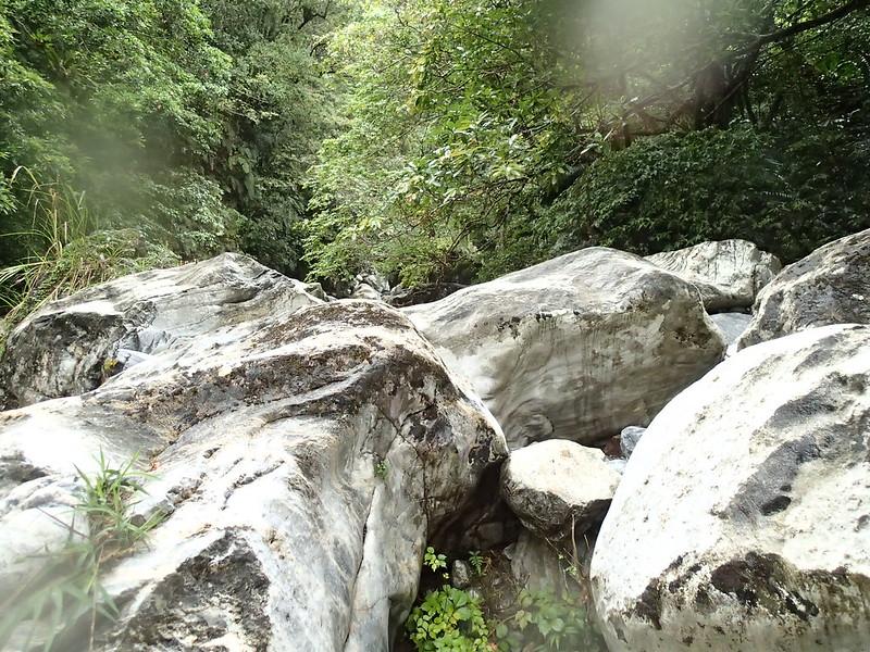 花蓮。溯溪。祕境
