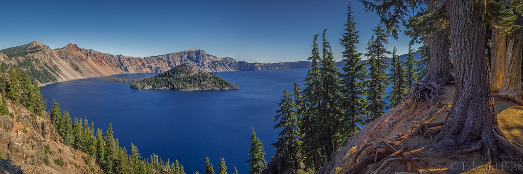 Morning at Crater Lake