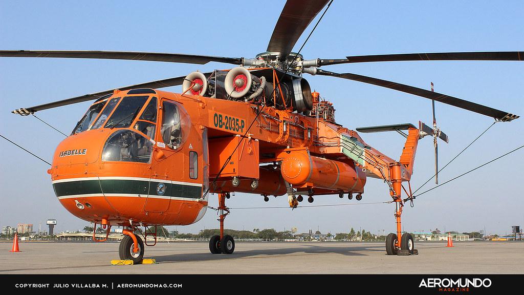 Elicottero S 64 F : Erickson air crane quot isabelle sikorsky s f skycrane ob