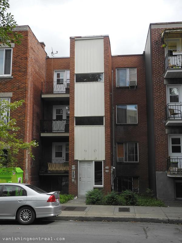 Narrow apartments on Rouen