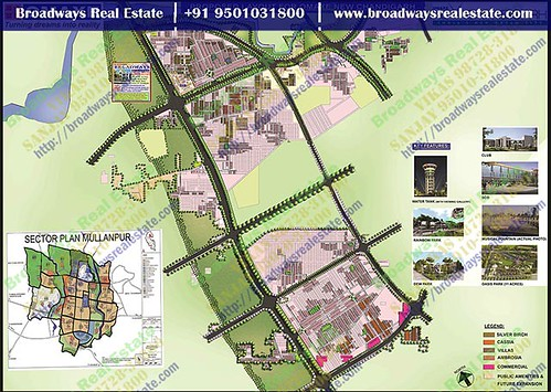Omaxe The Resort Site Layout Mullanpur