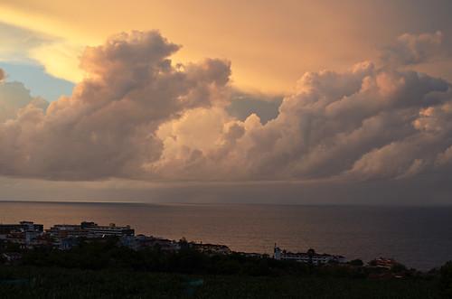 Stormy clouds, Puerto de la Cruz, Tenerife