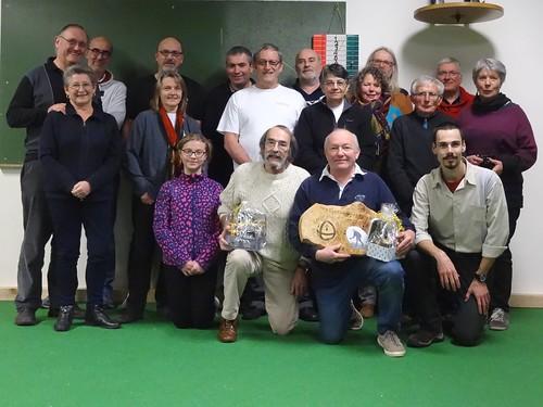 17/12/2016 - Guérande : Concours de boules plombées en tête-à-tête