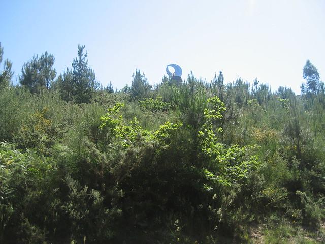 Faro das Lúas en Vilagarcía de Arousa