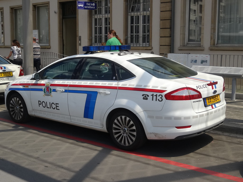 luxembourg ford mondeo police harry nl flickr. Black Bedroom Furniture Sets. Home Design Ideas