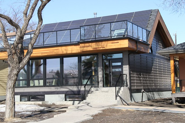 Effect homes built this net zero home following the early for Net zero energy house