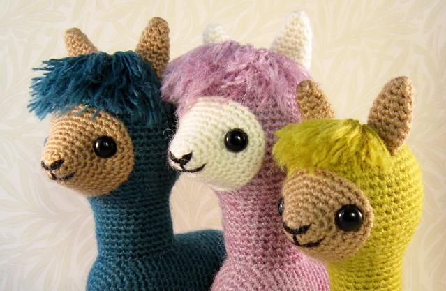 Amigurumi Alpaca Pattern : photo