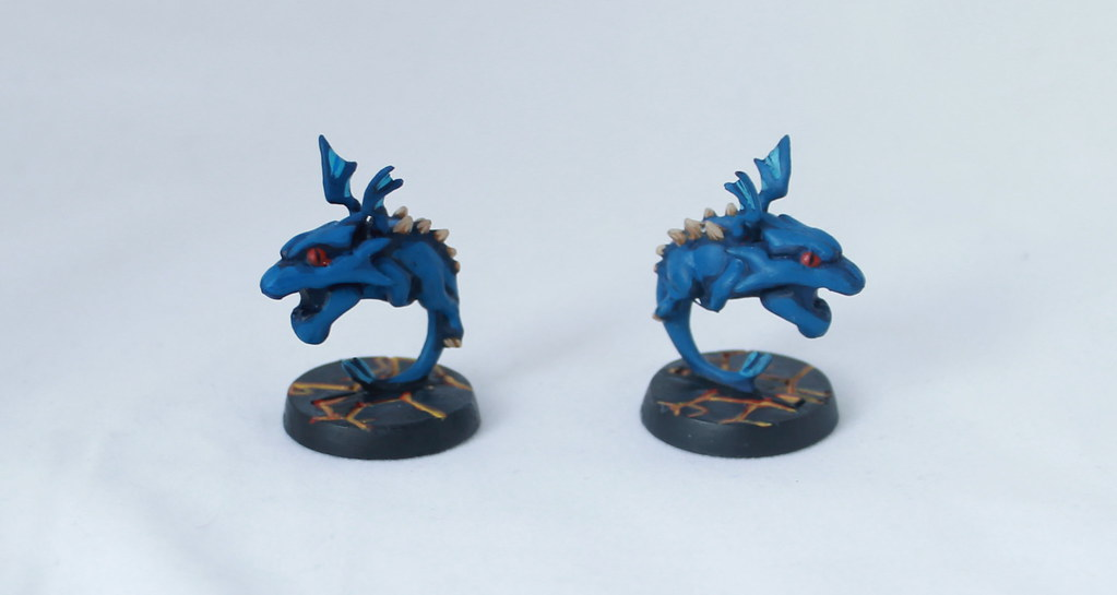Super Dungeon Explore Dragon's Clutch Wyrmlings Painted