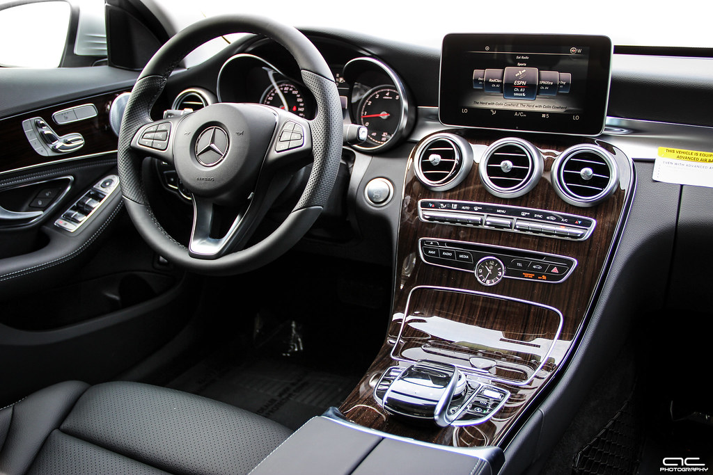 2015 Mercedes Benz C300 Interior Photo Taken At The Vin