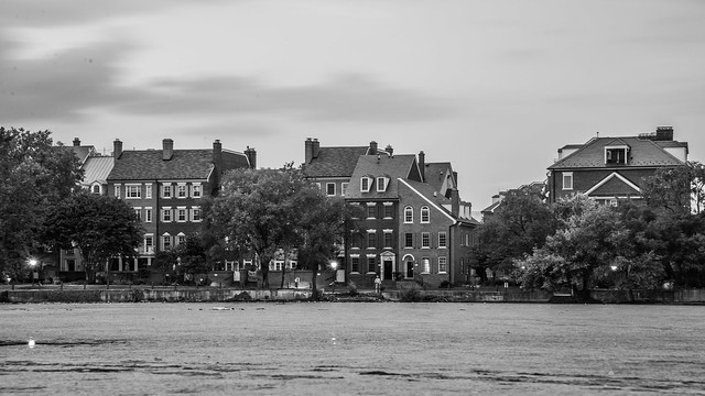 Townhouses in Old Town Alexandria, VA