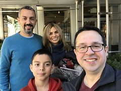 Fede con Anibal, Karina y Lucas