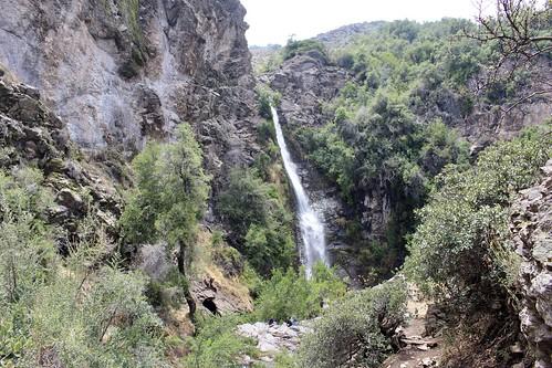 Salto de Apoquindo, Cerro Aguas de Ramón