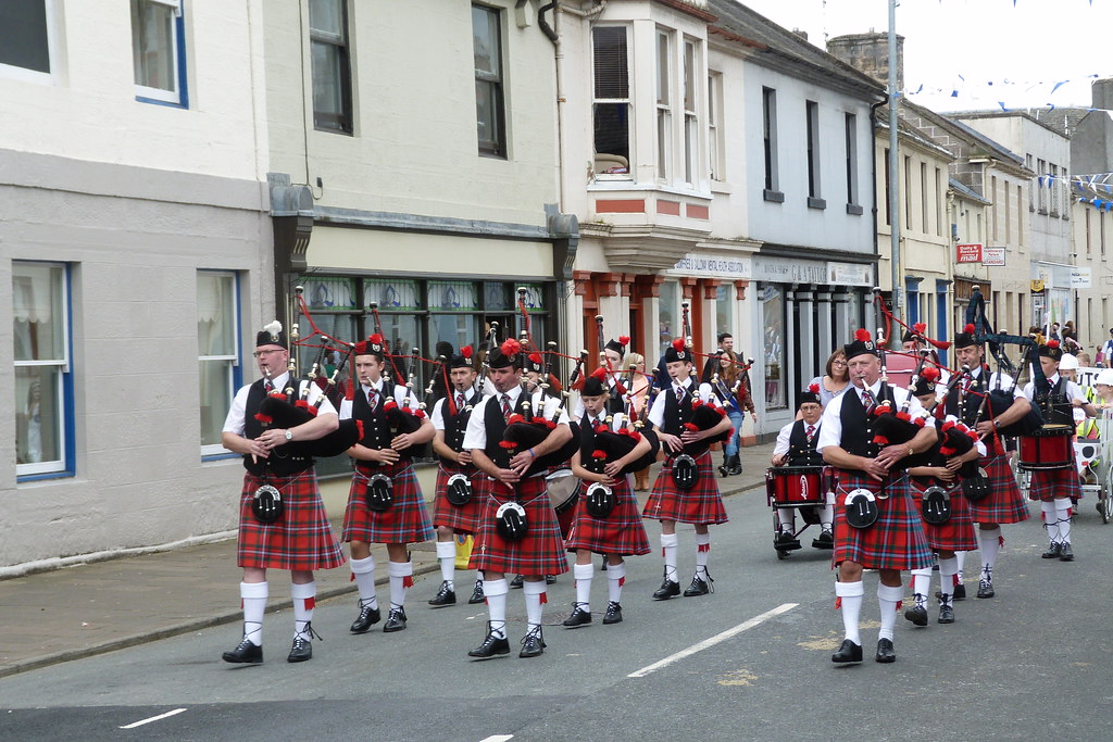 Sanquhar Riding The Marches 2014