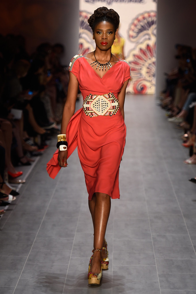 Grand Mama Africa I #African inspired fashion by Lena Hoschek #LenaHoschek #red