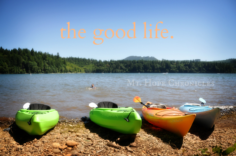 the good life @ Mt. Hope Chronicles