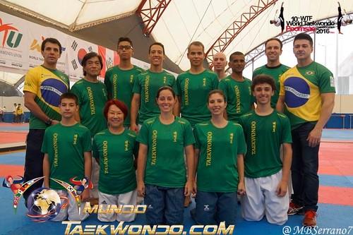 mundial de poomsae equipe Brasil