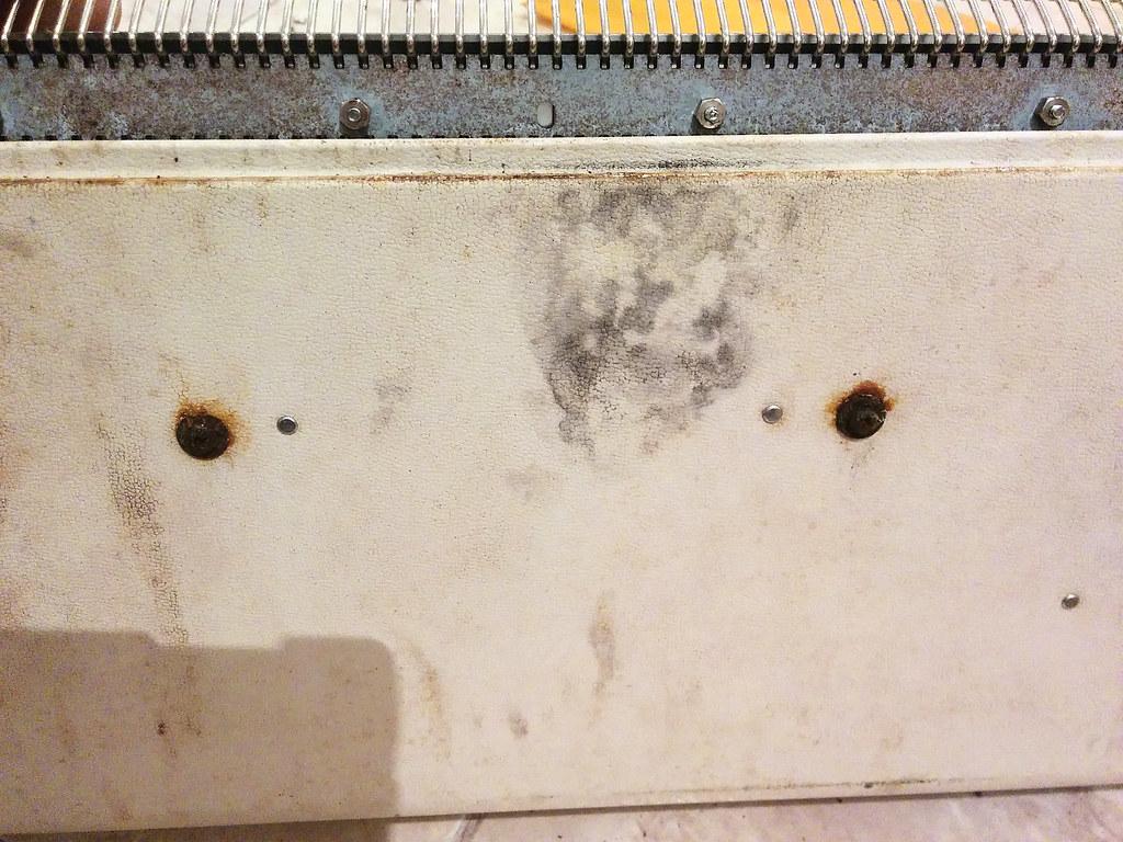 tornillos oxidados