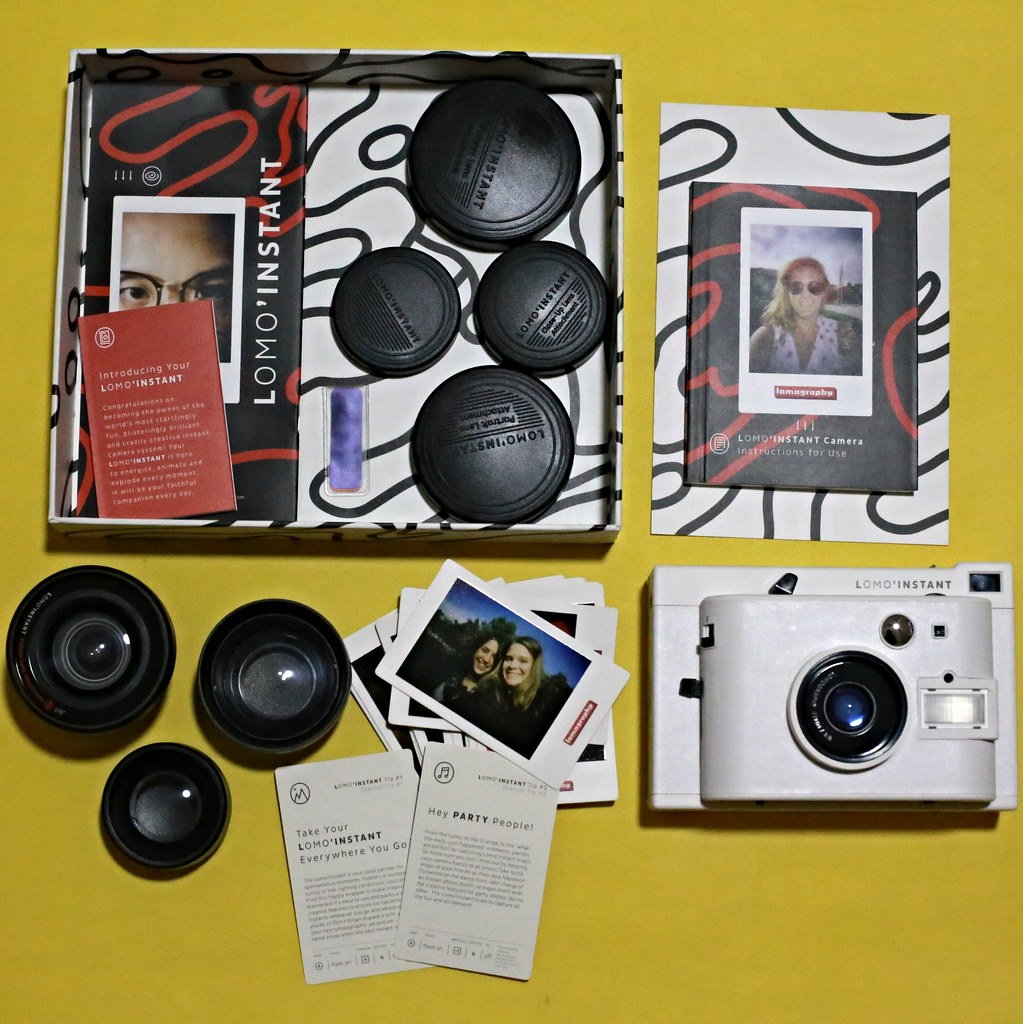 Lomo'Instant Camera Review + Giveaway