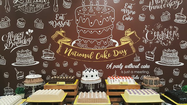 Goldilocks National Cake Day!