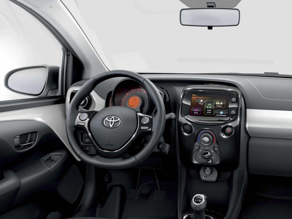 Toyota Aygo 2014 Interior Toyota Motor Europe Flickr
