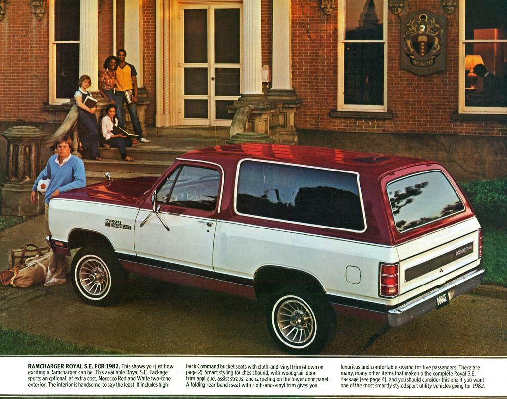 1982 Dodge Ramcharger 4X4 SUV | coconv | Flickr
