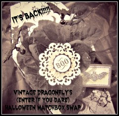 2014 Halloween Matchbox Swap by Vintage Dragonfly