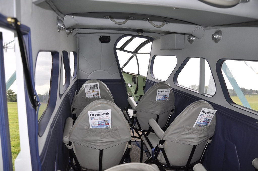 Cabin Of The Dragon Rapide De Havilland Moth Club S 29th