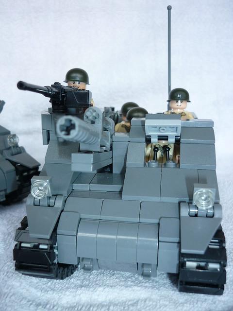 Lego US-Army TankLego Army Tank