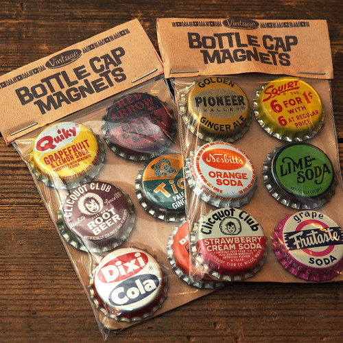 Vintage Upcycling Company / Bottle Cap Magnets