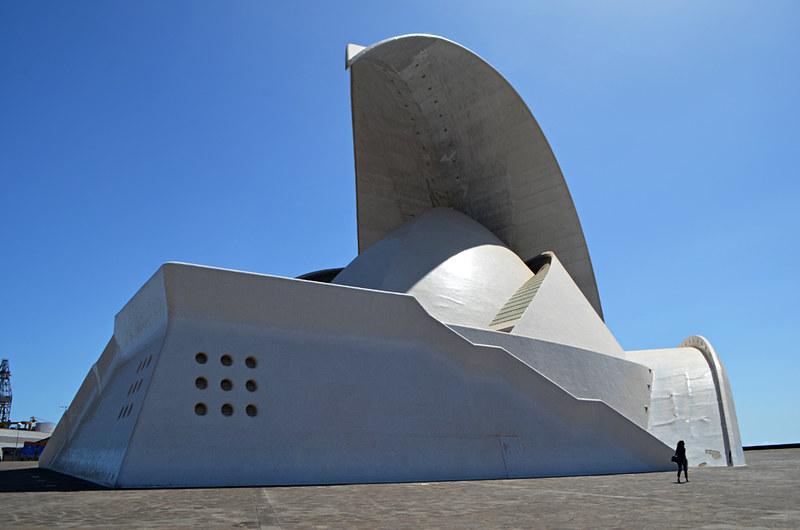 Tenerife Auditorium, Santa Cruz, Tenerife